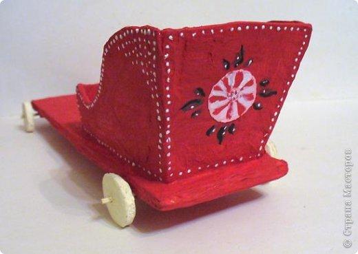 Городецкая игрушка лошадка - f796