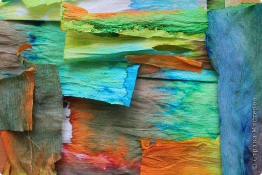 Вот такой Тагильский поднос из бумаги у нас получился! фото 5