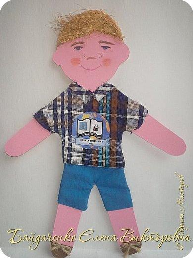 """Для участия в арт-проекте """"Дети планеты"""" мы сделали трех кукол.  фото 2"""
