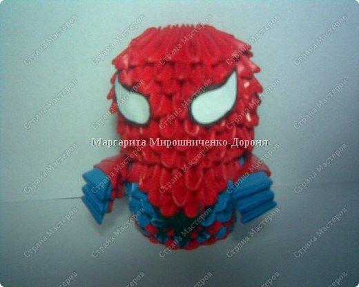 Оригами модульное: SPIDER-MAN фото 1
