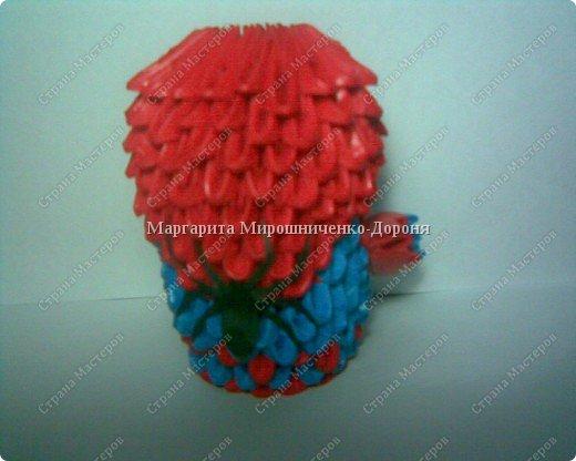 Оригами модульное: SPIDER-MAN фото 2
