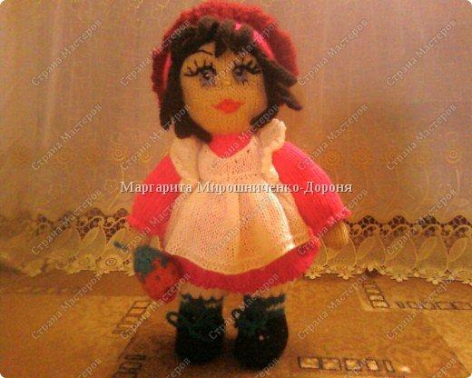 Кукла-клубничка фото 1