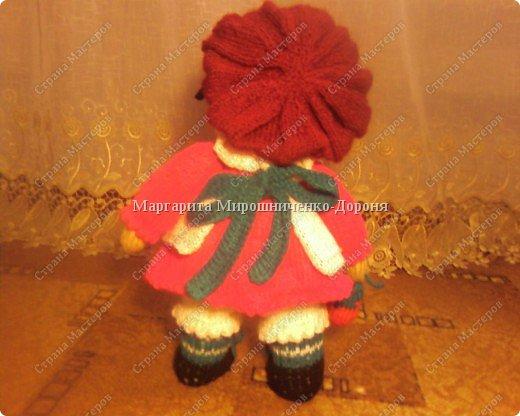 Кукла-клубничка фото 2