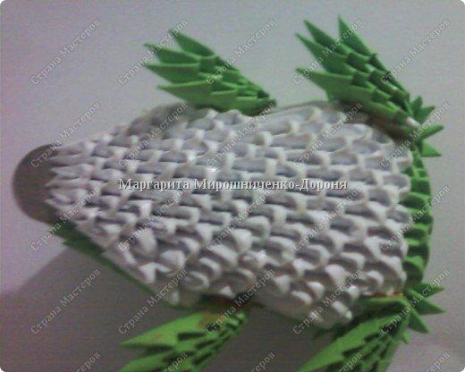 Оригами модульное: Друг лягушонка фото 2