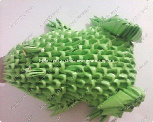 Оригами модульное: Друг лягушонка фото 3