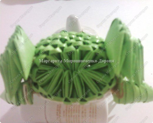 Оригами модульное: Друг лягушонка фото 5