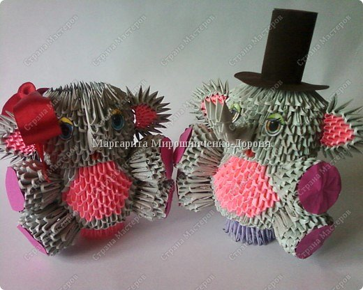 Оригами модульное: Артисты фото 2