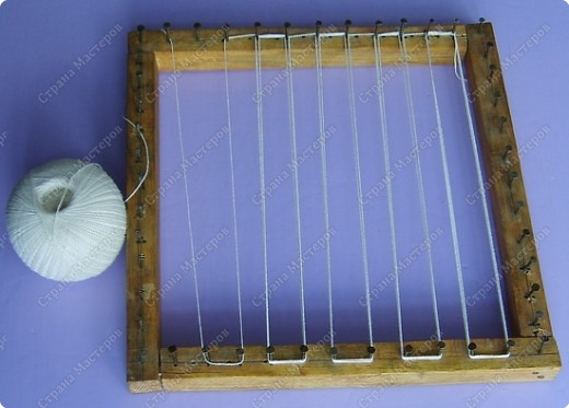 Мастер-класс по плетеной салфетке фото 2
