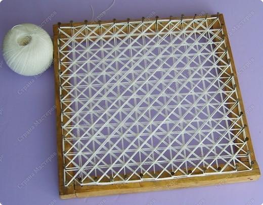 Мастер-класс по плетеной салфетке фото 4