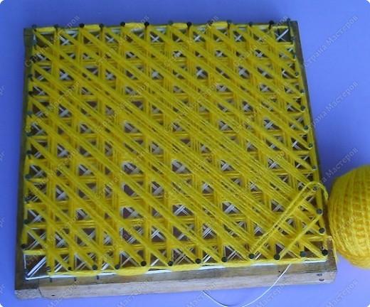 Мастер-класс по плетеной салфетке фото 5