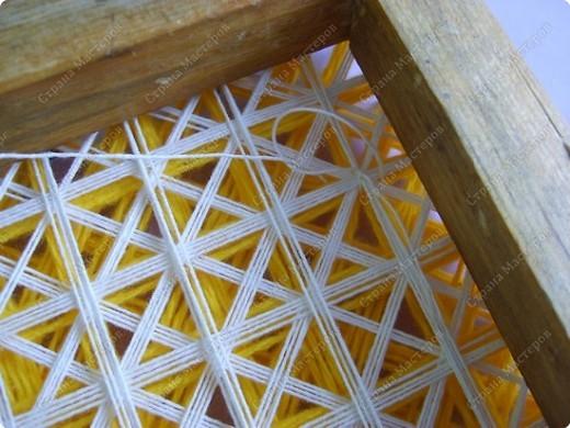 Мастер-класс по плетеной салфетке фото 8