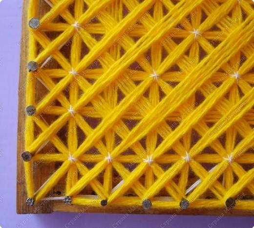 Мастер-класс по плетеной салфетке фото 11