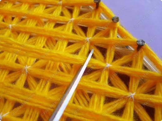 Мастер-класс по плетеной салфетке фото 12