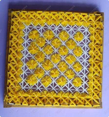 Мастер-класс по плетеной салфетке фото 14