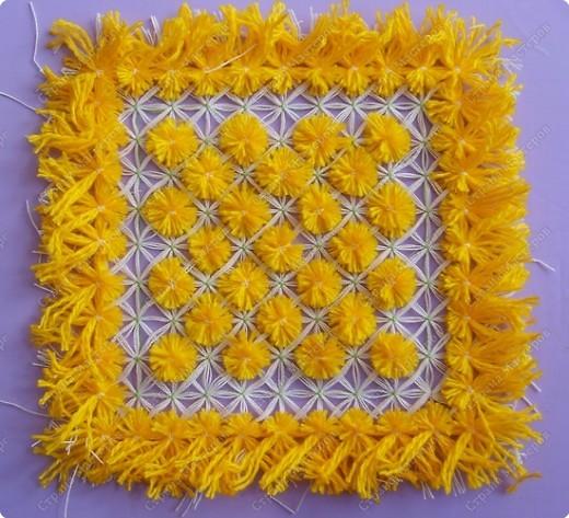 Мастер-класс по плетеной салфетке фото 18