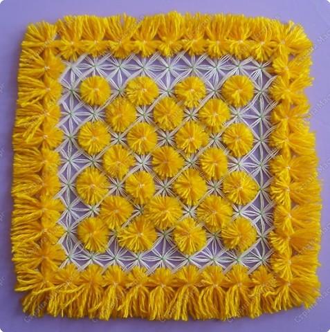 Мастер-класс по плетеной салфетке фото 1