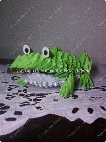 Оригами модульное: Друг лягушонка фото 1