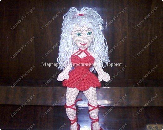 Вязание крючком: Кукла Маргуша