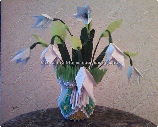 Оригами модульное: Букет