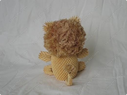 Модульное оригами - Лев.