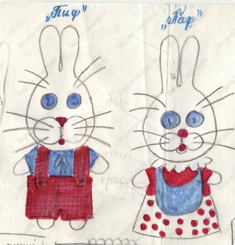 Перебирая свой архив наткнулась на выкройку 35-ти летней давности! Её я перерисовывала из детского журнала, будучи ещё совсем девочкой.  фото 1