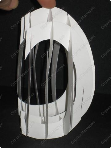 Вот такой тоннель получился у меня. Самое здоровское, что это яйцо можно сложить внутри открытки!  А мой первый тоннель, вы можете помотреть здесь http://stranamasterov.ru/node/16435  фото 8