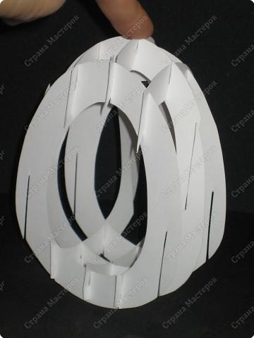 Вот такой тоннель получился у меня. Самое здоровское, что это яйцо можно сложить внутри открытки!  А мой первый тоннель, вы можете помотреть здесь http://stranamasterov.ru/node/16435  фото 9