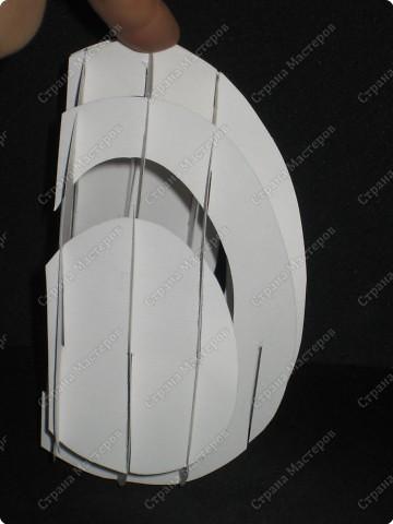 Вот такой тоннель получился у меня. Самое здоровское, что это яйцо можно сложить внутри открытки!  А мой первый тоннель, вы можете помотреть здесь http://stranamasterov.ru/node/16435  фото 10