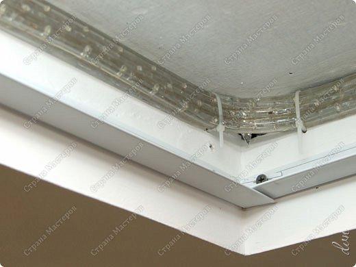 "Vasil Dziashkouski hand made. [video:https://www.youtube.com/watch?v=6mLZUxPFES0 width:640 height:360 ]  Это окончательный вид подвесного потолка из гипсокартона и профилей типа ""Армстронг"".  фото 16"