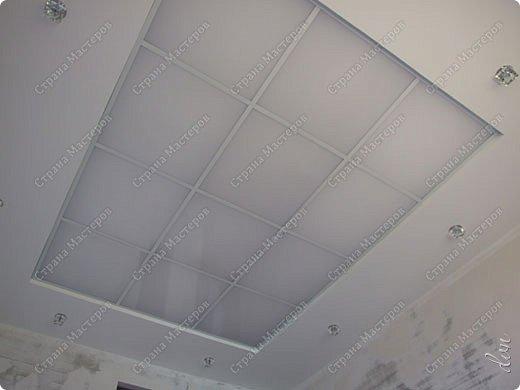 "Vasil Dziashkouski hand made. [video:https://www.youtube.com/watch?v=6mLZUxPFES0 width:640 height:360 ]  Это окончательный вид подвесного потолка из гипсокартона и профилей типа ""Армстронг"".  фото 23"