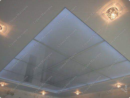 "Vasil Dziashkouski hand made. [video:https://www.youtube.com/watch?v=6mLZUxPFES0 width:640 height:360 ]  Это окончательный вид подвесного потолка из гипсокартона и профилей типа ""Армстронг"".  фото 24"