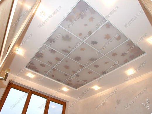 "Vasil Dziashkouski hand made. [video:https://www.youtube.com/watch?v=6mLZUxPFES0 width:640 height:360 ]  Это окончательный вид подвесного потолка из гипсокартона и профилей типа ""Армстронг"".  фото 25"