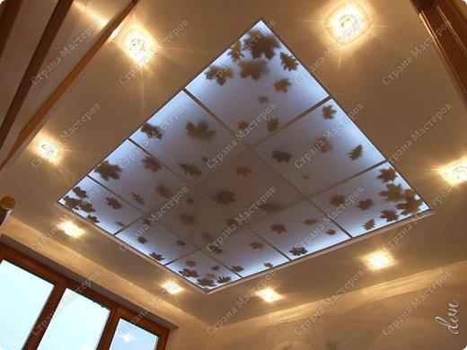 "Vasil Dziashkouski hand made. [video:https://www.youtube.com/watch?v=6mLZUxPFES0 width:640 height:360 ]  Это окончательный вид подвесного потолка из гипсокартона и профилей типа ""Армстронг"".  фото 1"