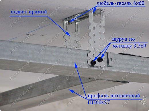 "Vasil Dziashkouski hand made. [video:https://www.youtube.com/watch?v=6mLZUxPFES0 width:640 height:360 ]  Это окончательный вид подвесного потолка из гипсокартона и профилей типа ""Армстронг"".  фото 5"