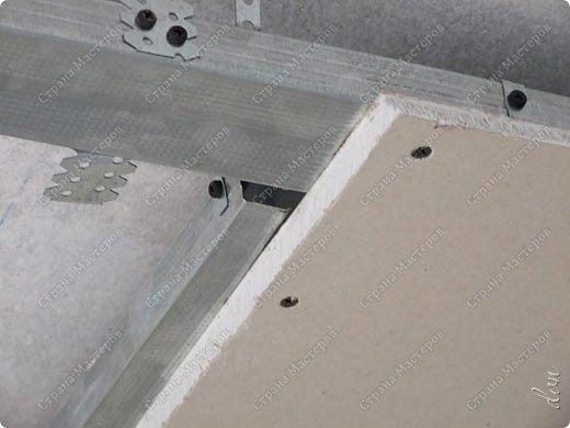 "Vasil Dziashkouski hand made. [video:https://www.youtube.com/watch?v=6mLZUxPFES0 width:640 height:360 ]  Это окончательный вид подвесного потолка из гипсокартона и профилей типа ""Армстронг"".  фото 8"