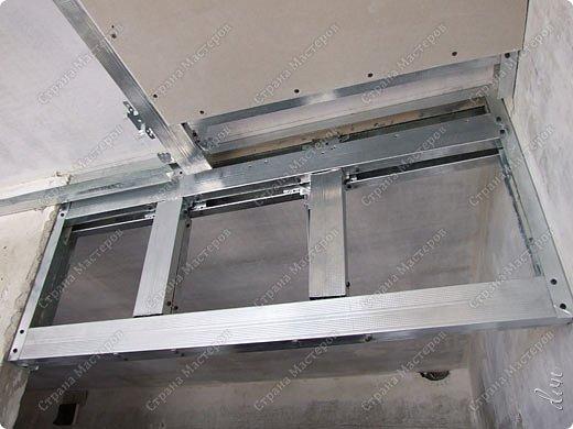 "Vasil Dziashkouski hand made. [video:https://www.youtube.com/watch?v=6mLZUxPFES0 width:640 height:360 ]  Это окончательный вид подвесного потолка из гипсокартона и профилей типа ""Армстронг"".  фото 11"