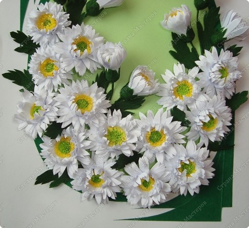 Квиллинг Хризантемы + mini