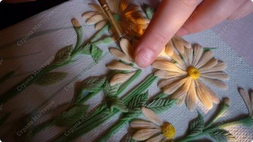 Мастер-класс Лепка Луговые цветы Тесто соленое фото 9