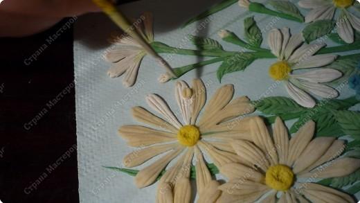 Мастер-класс Лепка Луговые цветы Тесто соленое фото 14