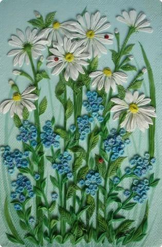 Мастер-класс Лепка Луговые цветы Тесто соленое фото 16