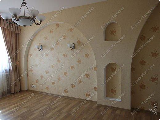 Vasil Dziashkouski hand made. [video:https://www.youtube.com/watch?v=7SE3YSClmgU width:640 height:360 autoplay:1]   И снова работаем с гипсокартоном. Вот такую конструкцию соорудил в зале на стене. фото 1