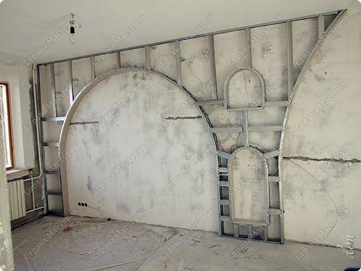 Vasil Dziashkouski hand made. [video:https://www.youtube.com/watch?v=7SE3YSClmgU width:640 height:360 autoplay:1]   И снова работаем с гипсокартоном. Вот такую конструкцию соорудил в зале на стене. фото 7