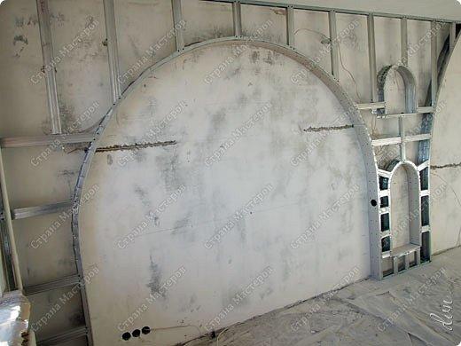 Vasil Dziashkouski hand made. [video:https://www.youtube.com/watch?v=7SE3YSClmgU width:640 height:360 autoplay:1]   И снова работаем с гипсокартоном. Вот такую конструкцию соорудил в зале на стене. фото 8