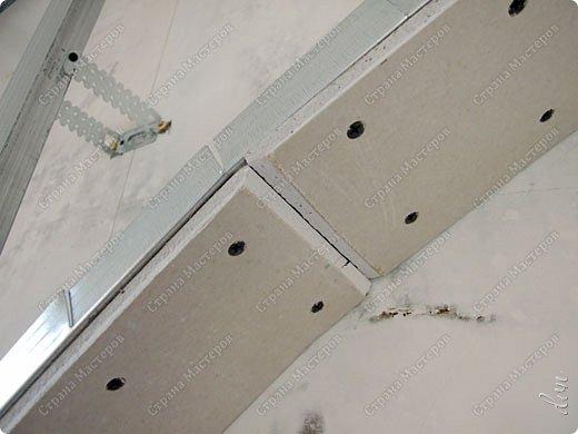 Vasil Dziashkouski hand made. [video:https://www.youtube.com/watch?v=7SE3YSClmgU width:640 height:360 autoplay:1]   И снова работаем с гипсокартоном. Вот такую конструкцию соорудил в зале на стене. фото 14