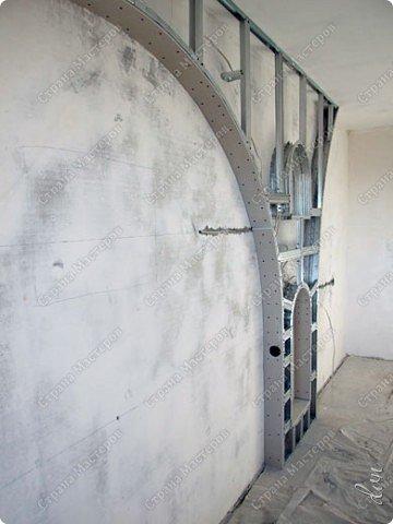 Vasil Dziashkouski hand made. [video:https://www.youtube.com/watch?v=7SE3YSClmgU width:640 height:360 autoplay:1]   И снова работаем с гипсокартоном. Вот такую конструкцию соорудил в зале на стене. фото 15