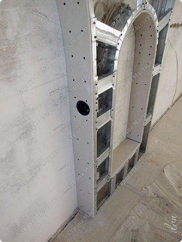 Vasil Dziashkouski hand made. [video:https://www.youtube.com/watch?v=7SE3YSClmgU width:640 height:360 autoplay:1]   И снова работаем с гипсокартоном. Вот такую конструкцию соорудил в зале на стене. фото 18