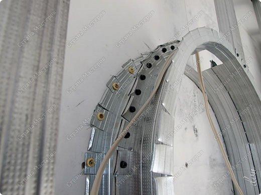 Vasil Dziashkouski hand made. [video:https://www.youtube.com/watch?v=7SE3YSClmgU width:640 height:360 autoplay:1]   И снова работаем с гипсокартоном. Вот такую конструкцию соорудил в зале на стене. фото 24