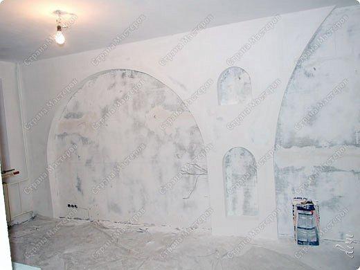 Vasil Dziashkouski hand made. [video:https://www.youtube.com/watch?v=7SE3YSClmgU width:640 height:360 autoplay:1]   И снова работаем с гипсокартоном. Вот такую конструкцию соорудил в зале на стене. фото 29