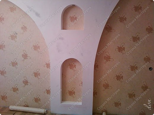 Vasil Dziashkouski hand made. [video:https://www.youtube.com/watch?v=7SE3YSClmgU width:640 height:360 autoplay:1]   И снова работаем с гипсокартоном. Вот такую конструкцию соорудил в зале на стене. фото 32