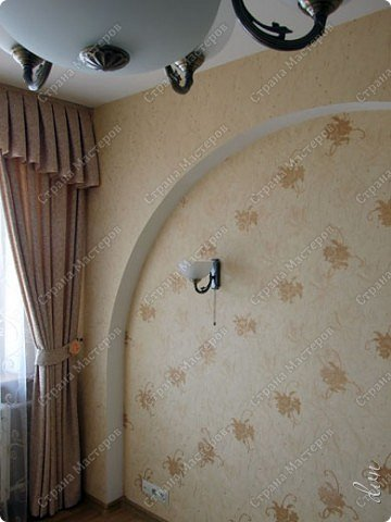 Vasil Dziashkouski hand made. [video:https://www.youtube.com/watch?v=7SE3YSClmgU width:640 height:360 autoplay:1]   И снова работаем с гипсокартоном. Вот такую конструкцию соорудил в зале на стене. фото 33